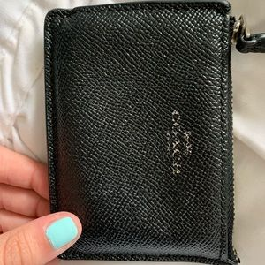 small Coach wallet/cardholder